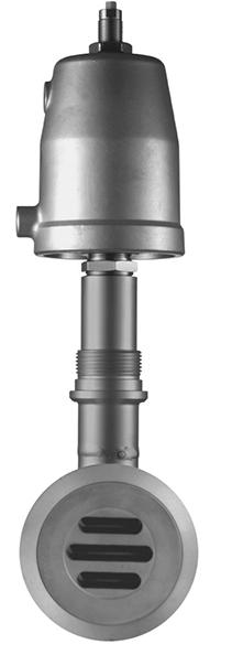 Запорный шибер с поршневым приводом серия 8040